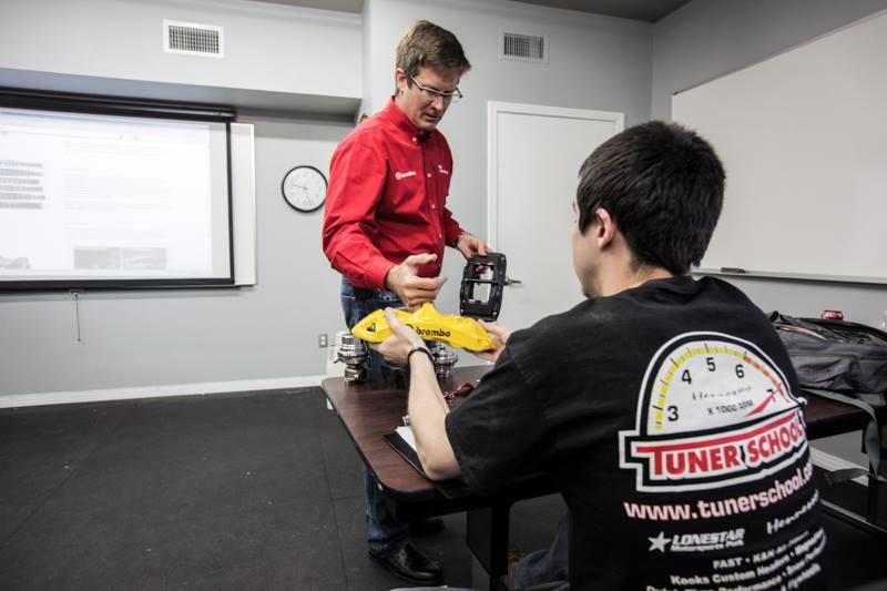 Brembo Brakes Visits Tuner School