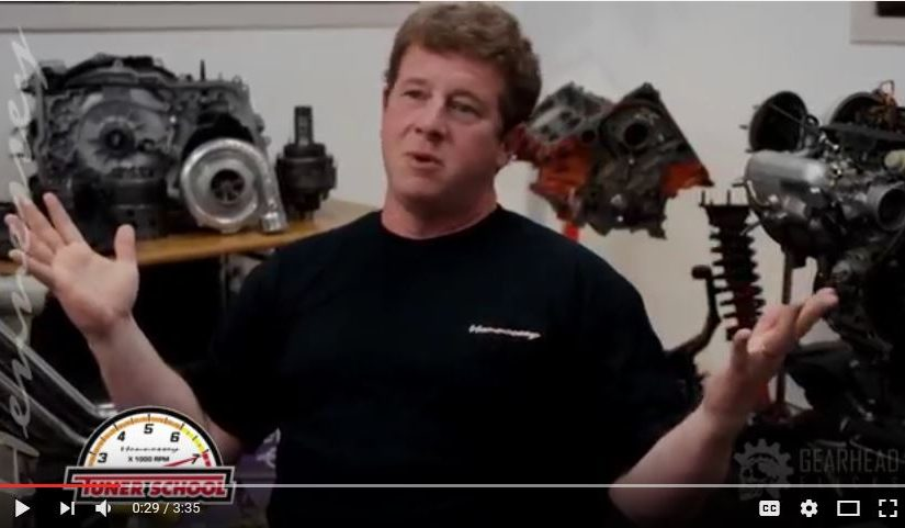 John Talks Tuner School