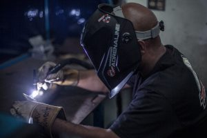 Fabrication and welding training begins for Fall 2016 Tuner School