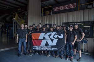 K&N Filters Visits Tuner School Fall 2016