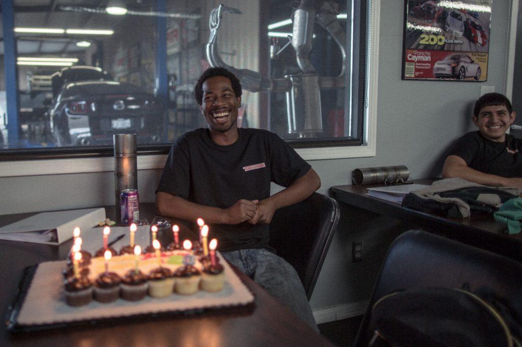 Happy Birthday Celbration at Tuner School