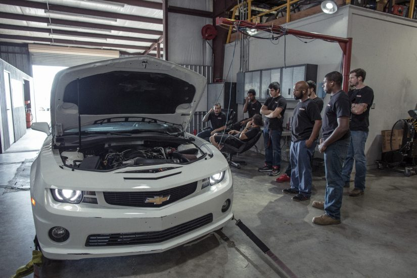 Camaro-Dyno-Exhaust Tuner School Fall 2016