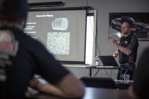 K&N Filters Visits Tuner School Fall 2016