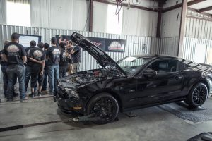 mustang dyno exhaust tuner school fall 2016